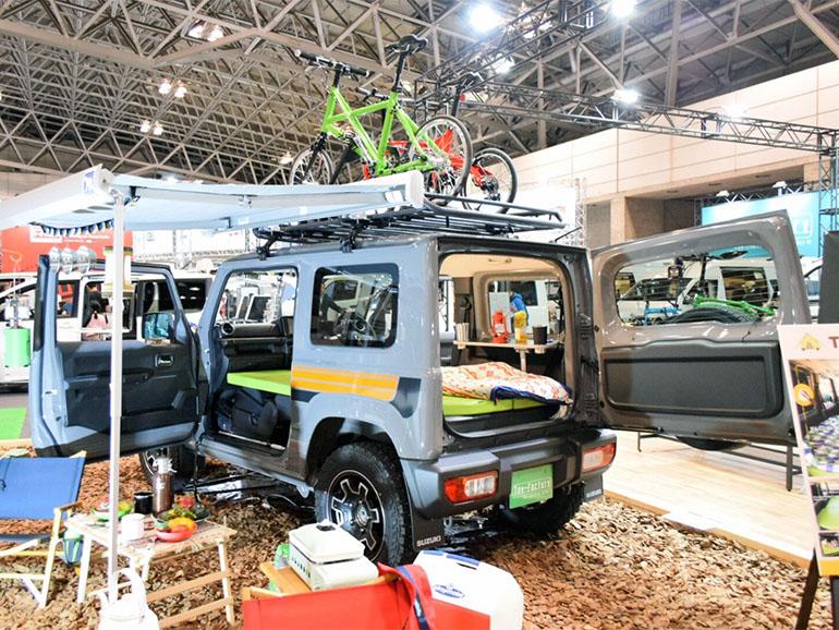 ジャパンキャンピングカーショー2019 軽キャン