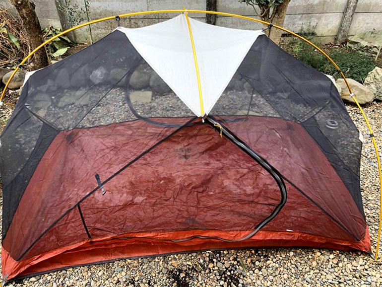 テント 組み立て2