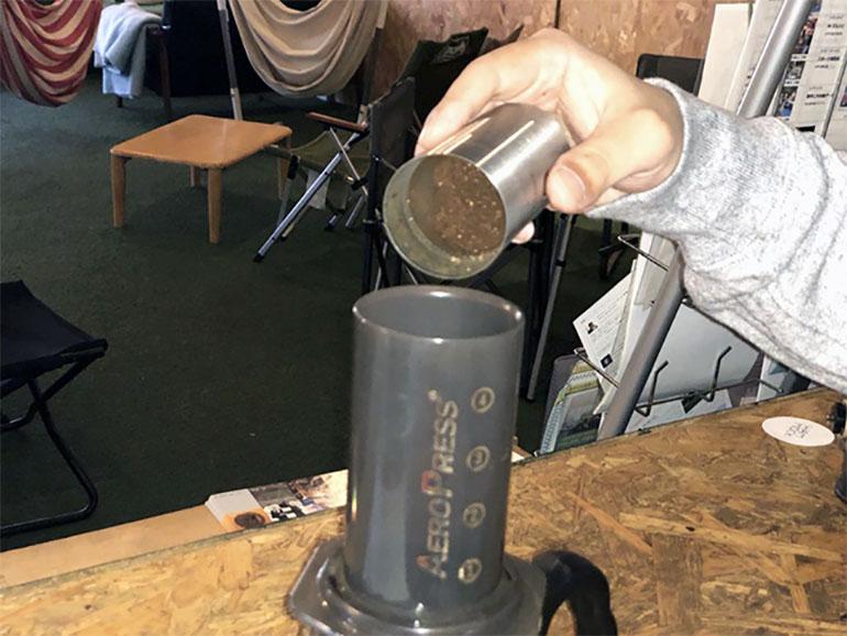 エアロプレス コーヒーセット
