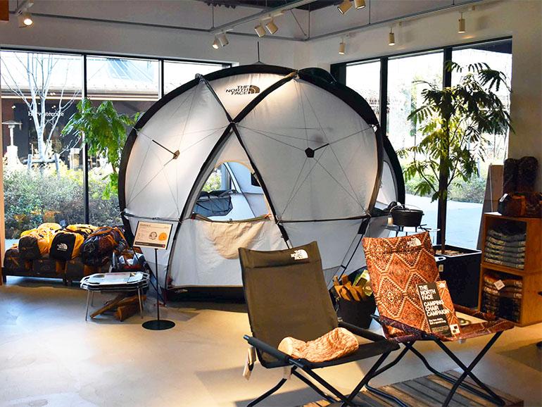 THE NORTH FACE ドーム型テント