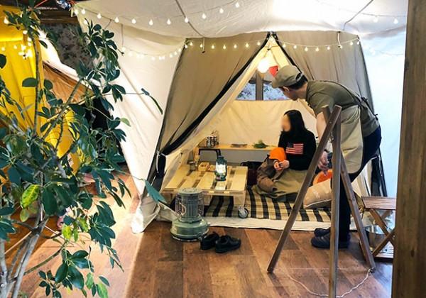 これぞグランピング!ogawaのアウトドアカフェ「GRAND lodge CAFE」の居心地が良すぎて困る