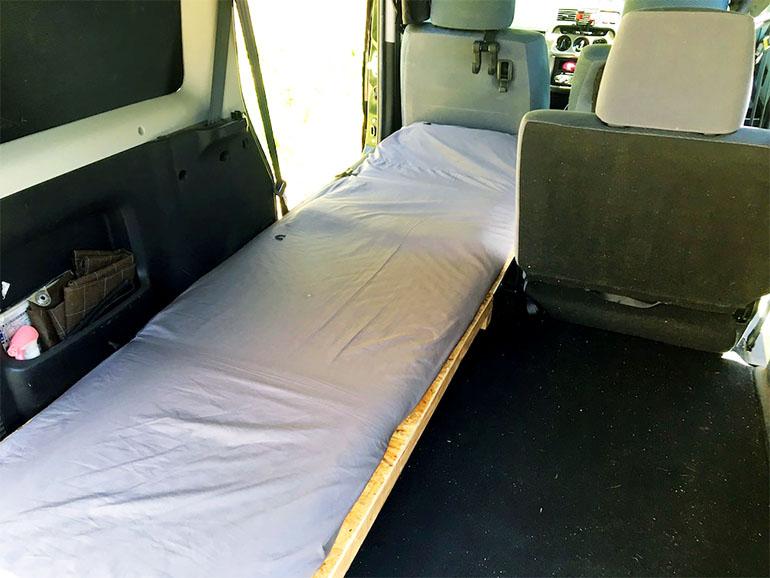 バモス DIY ベッド