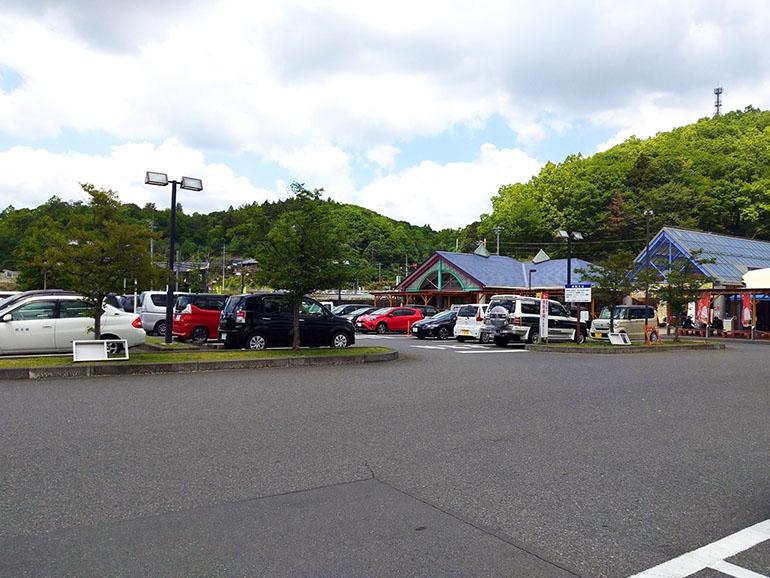 道の駅 もてぎ 駐車場