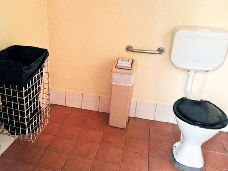 キャンプサイト マナム トイレ