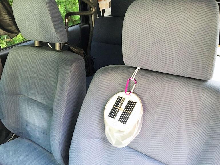ソーラーパネル 充電