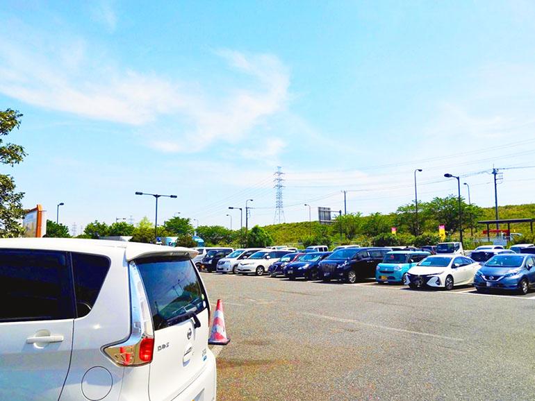 道の駅 八王子滝山 駐車場