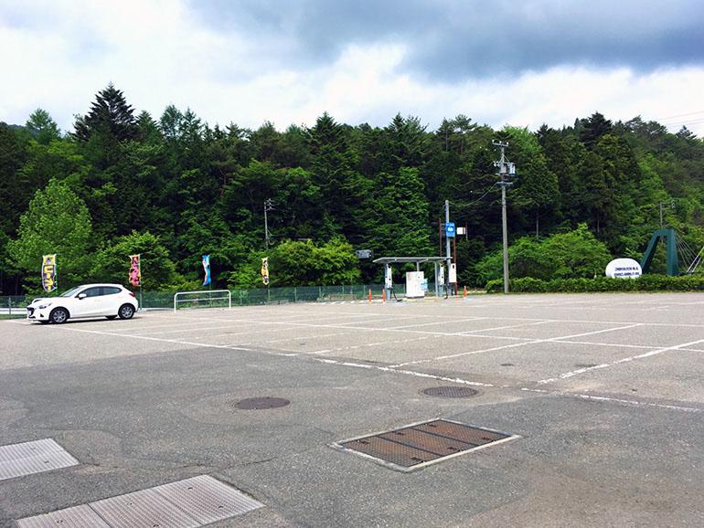 道の駅 つぐ高原グリーンパーク 駐車場