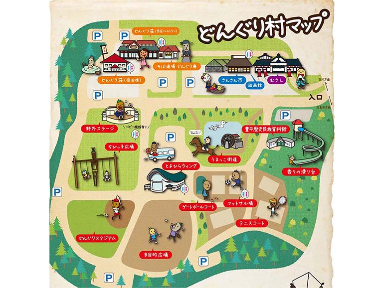 道の駅 豊平どんぐり村 マップ
