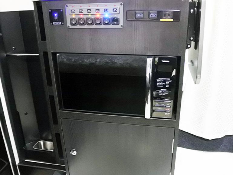 RVトラスト TR500 C-LH 電源設備