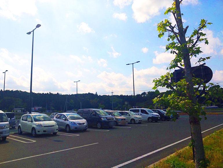 道の駅 サシバの里いちかい 駐車場