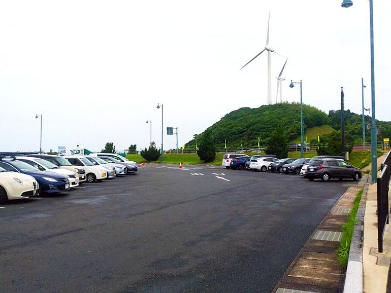 道の駅 キララ多岐 駐車場