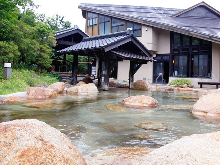 湯の川温泉