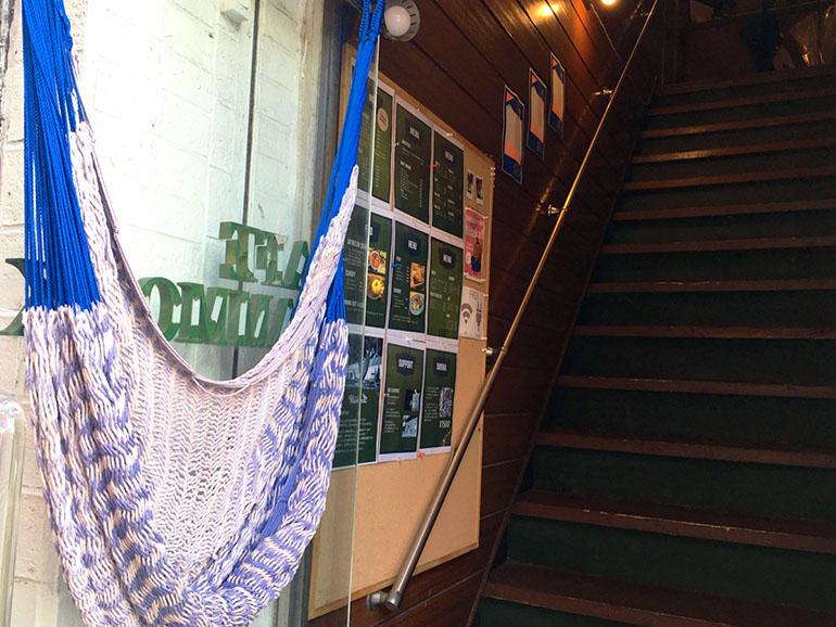 Cafe Hammock 入り口