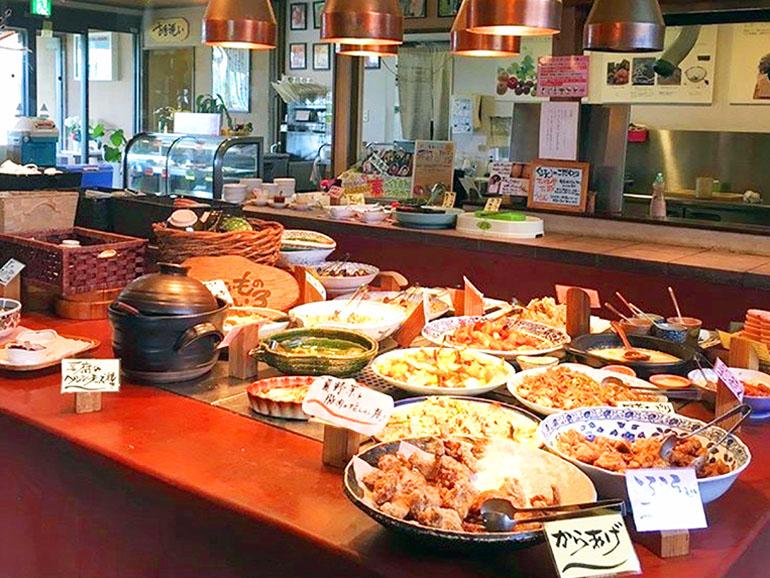 道の駅 おおき レストラン