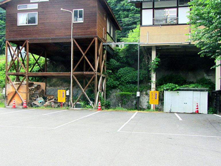 道の駅 六合 駐車場