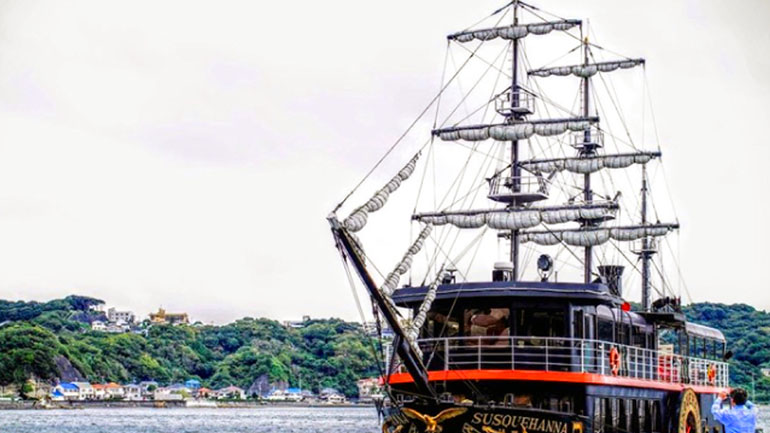 【静岡県】海は目の前!「開国下田みなと」は歴史&海鮮好き必見の道の駅