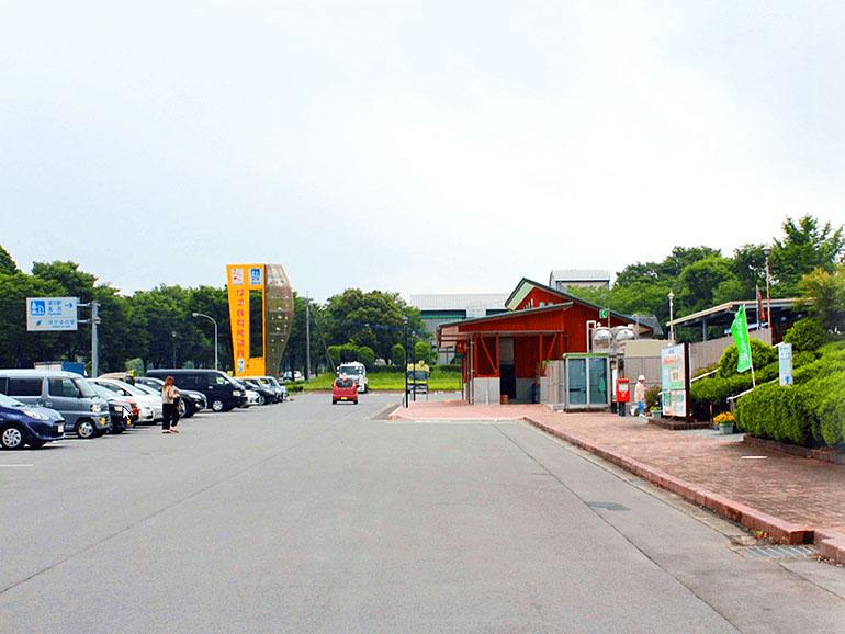 道の駅 旭志村ふれあいセンター 駐車場