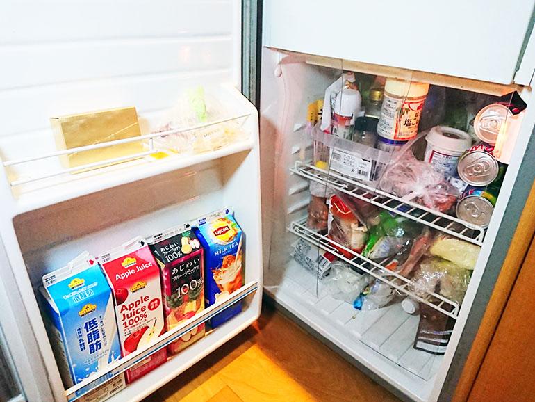 キャンピングカー 冷蔵庫