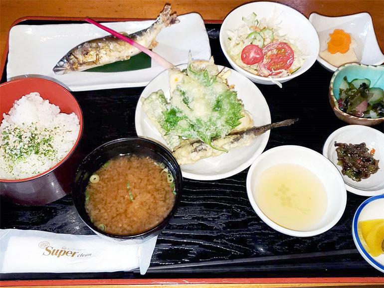 矢田川定食