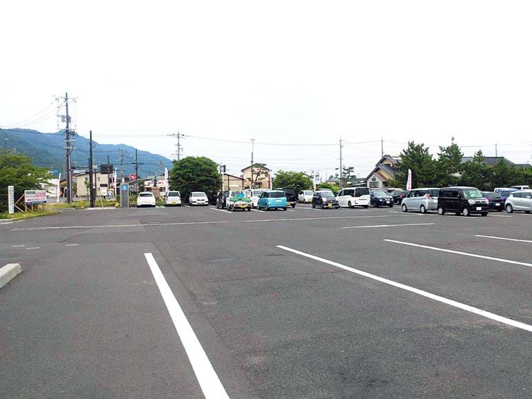 道の駅大社ご縁広場 駐車場