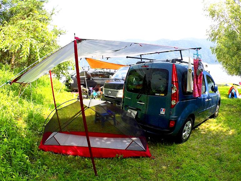 キャンプ様子2