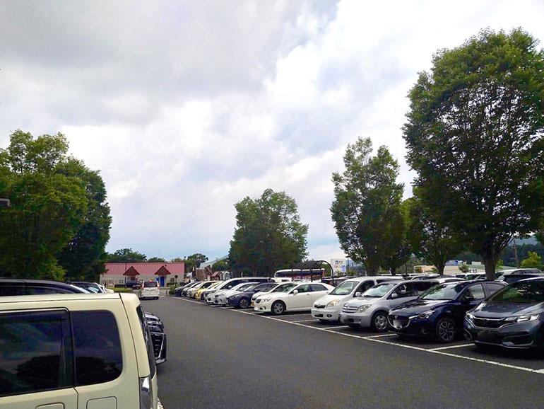 道の駅 うつのみやろまんちっく村 駐車場