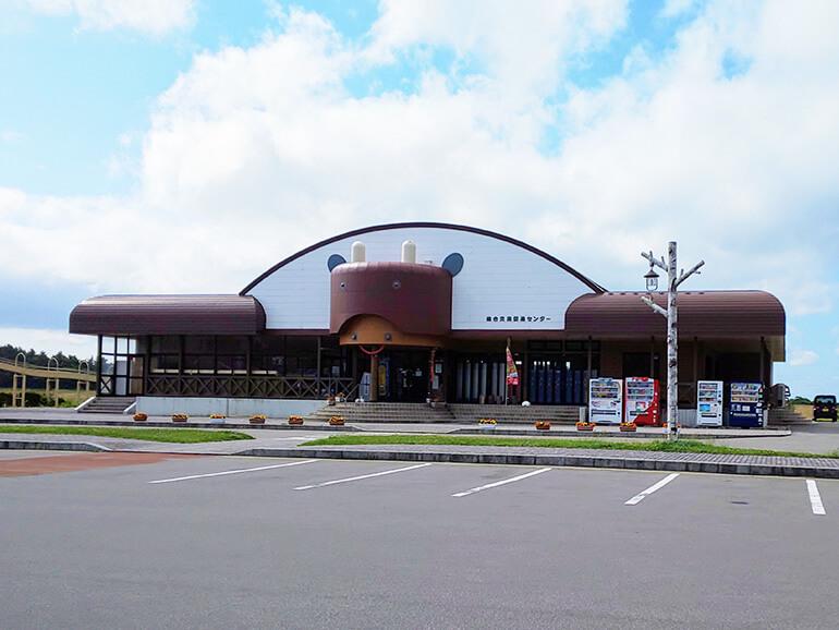 青森県道の駅十三湖高原 外観