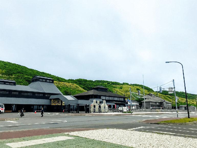 道の駅おびら鰊番屋 外観2