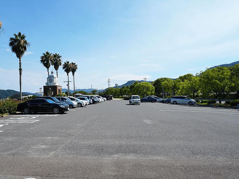 道の駅今治市多々羅しまなみ公園 駐車場