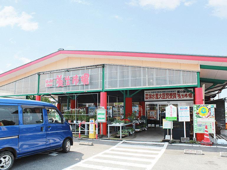 熊本県道の駅泗水外観