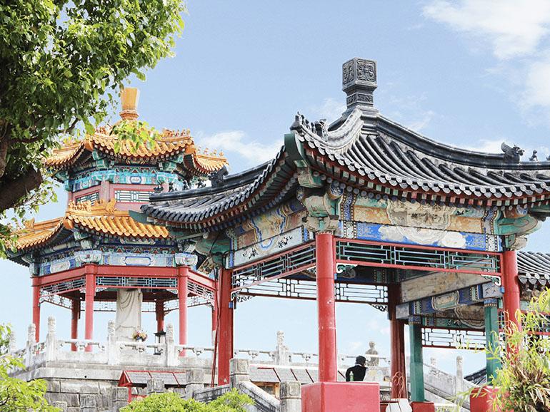熊本県道の駅泗水孔子公園 建造物