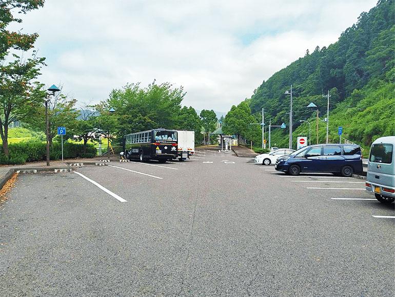 茨城県 道の駅さとみ駐車場