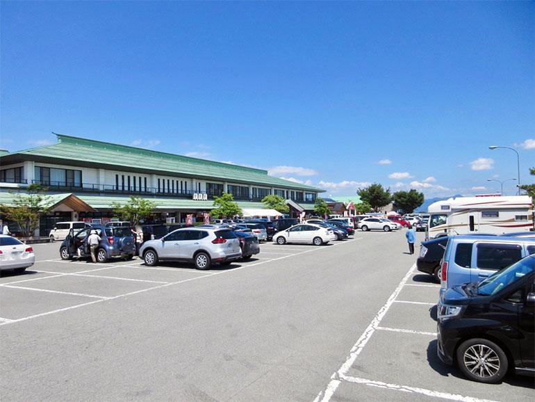 道の駅 寒河江 駐車場