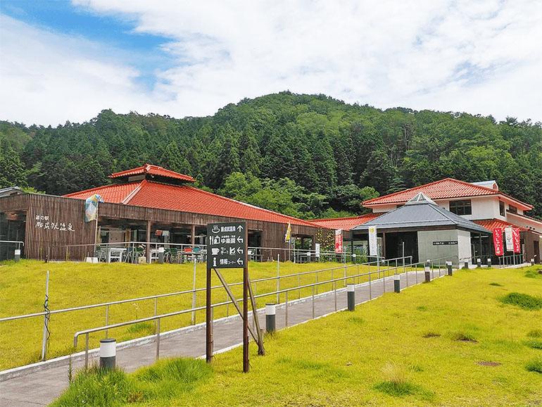 山口県道の駅 願成就温泉外観