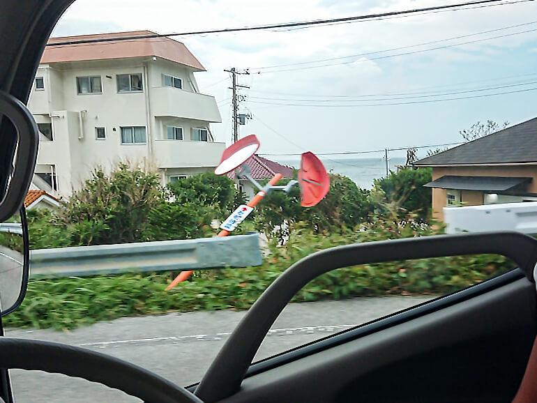 千葉県台風様子