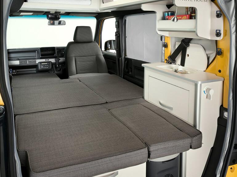 N-VAN Compo Pop Cabin ベッド