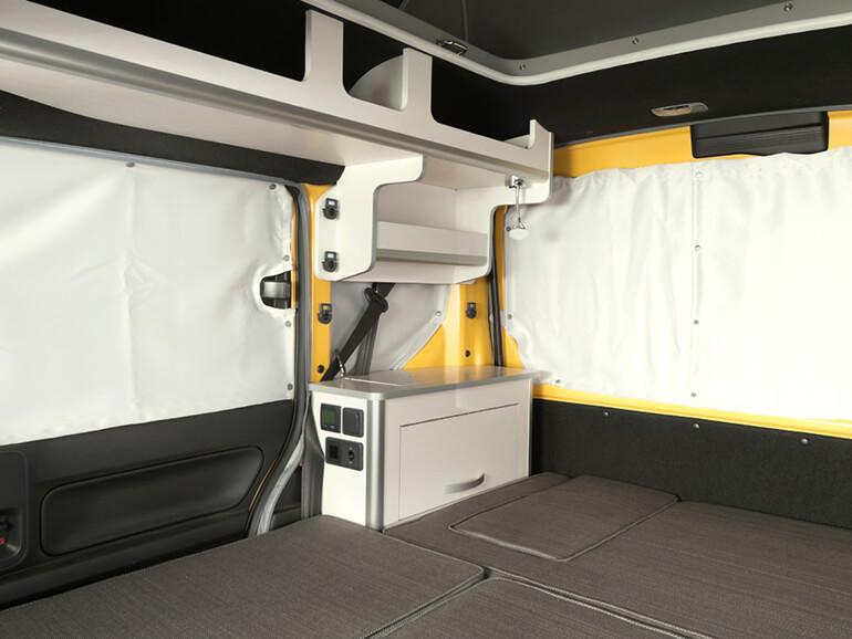 N-VAN Compo Pop Cabin プライバシーカーテン