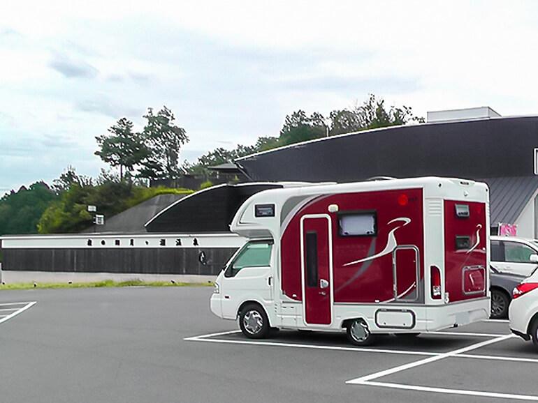 RVパークロマントピア月ヶ瀬 キャンピングカー