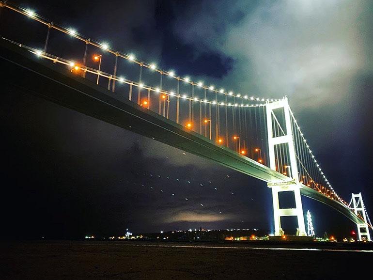 北海道室蘭市 工場夜景