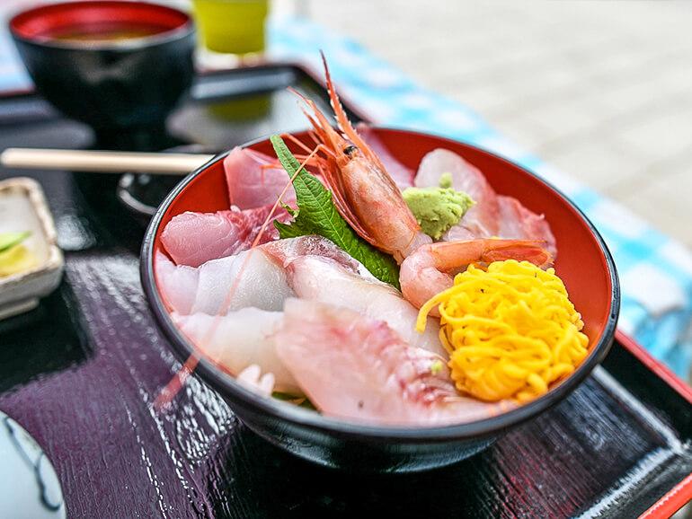 輪島海幸 海鮮丼