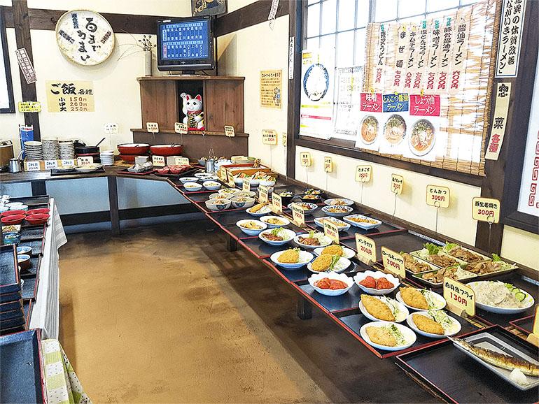 広島県道の駅北の関宿安芸高田食事処