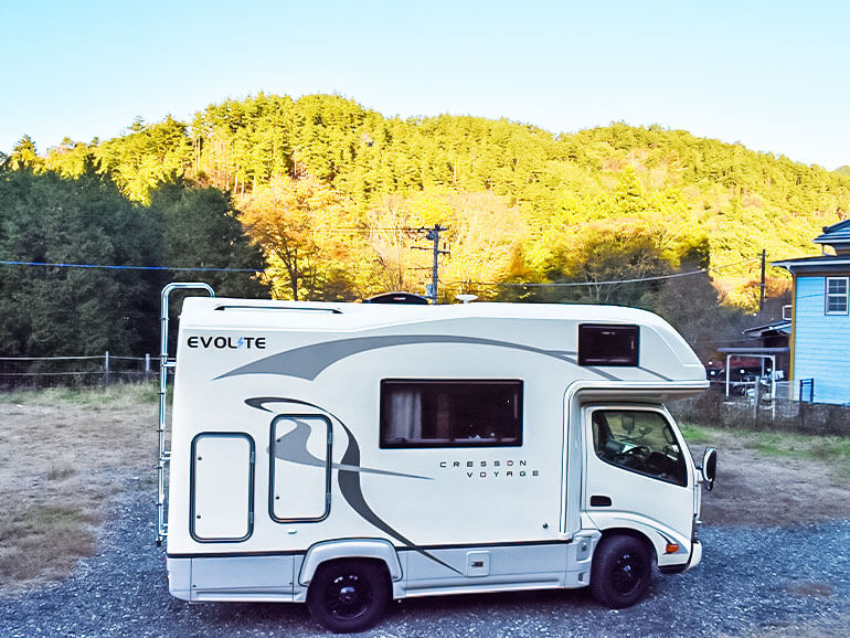 和みの里 オートキャンプ場 テントサイト