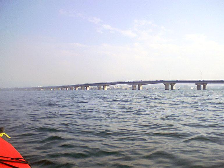 カヤック 琵琶湖