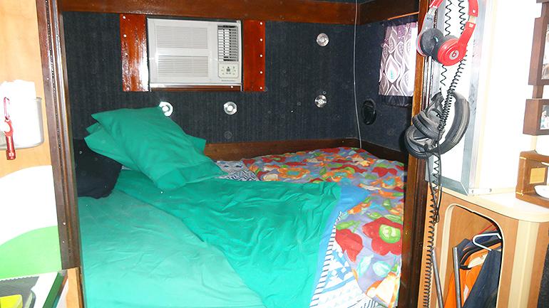 トラックキャンピングカー ベッド