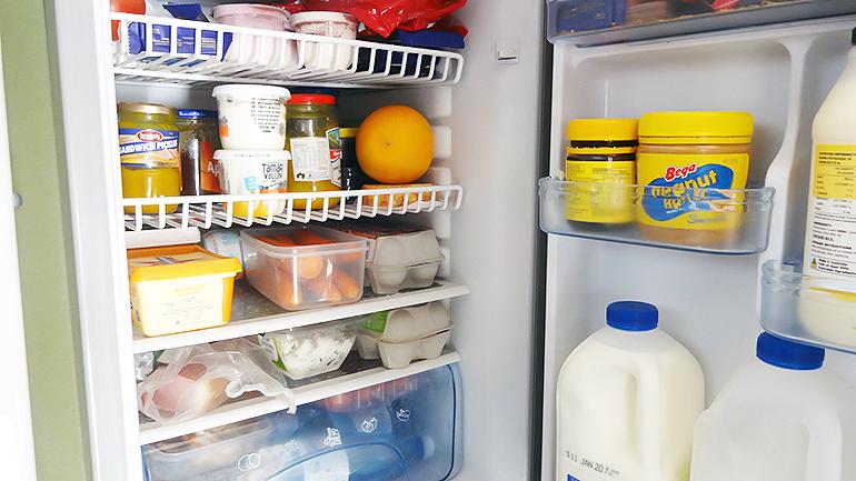 トラックキャンピングカー 冷蔵庫