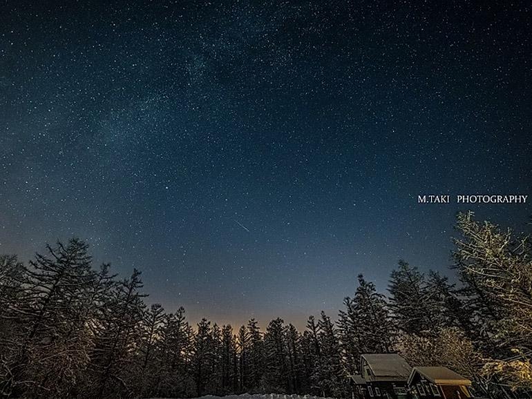 星に手のとどく丘キャンプ場 星空