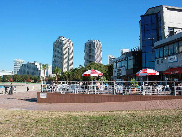 お台場海浜公園 マリンハウス