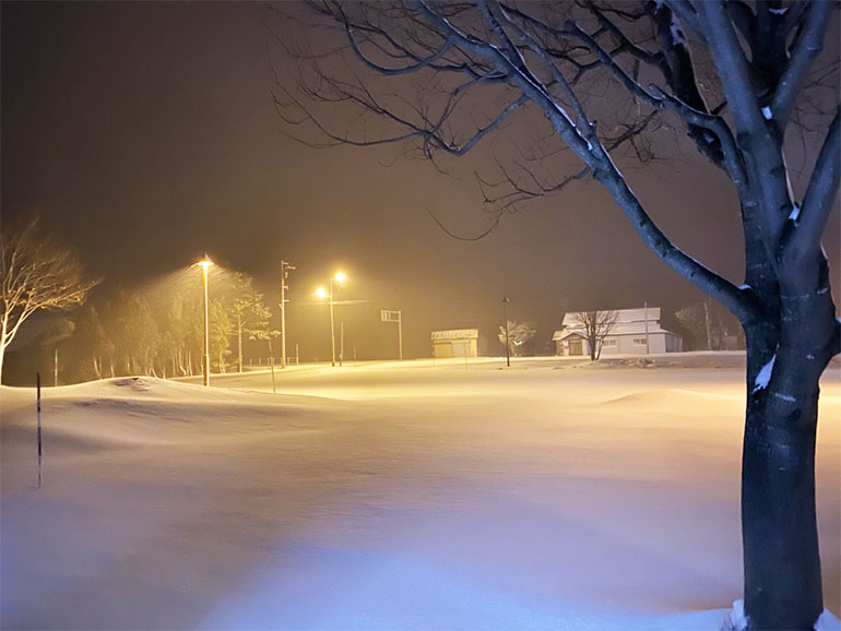 雪の道の駅