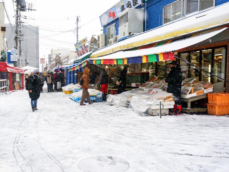 北海道 朝市