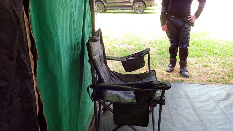 アウトドア用椅子